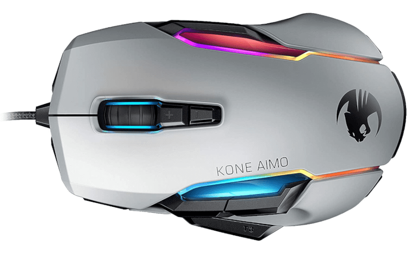 Roccat kone AIMO remastered gaming mouse.