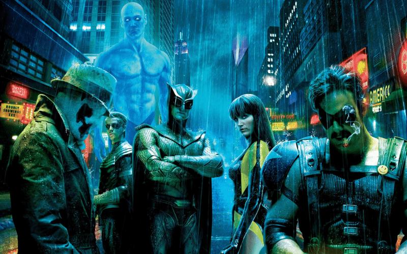 watchmen cover art cyberpunk movie