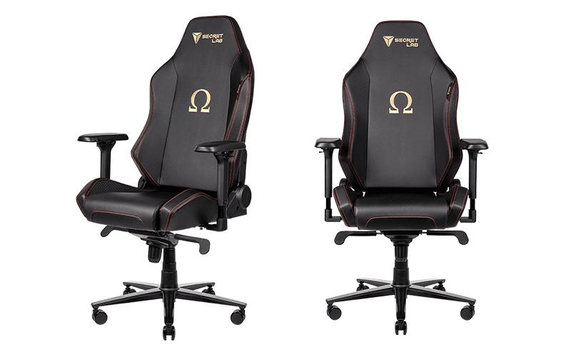 Secretlab Omega 2020 gaming chair.