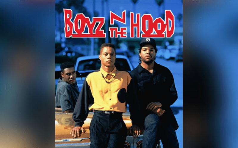 boyz n the hood gangster movie poster