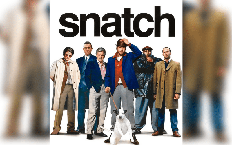 guy ritchie snatch film poster