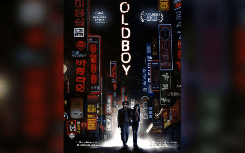oldboy korean gangster film poster