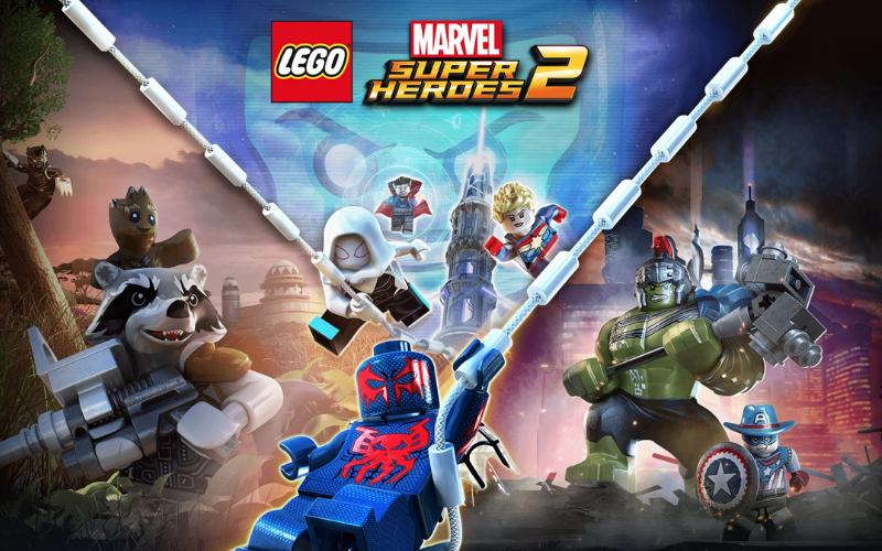 lego marvel superheroes 2 cover art