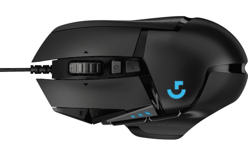 Logitech G502 Hero.
