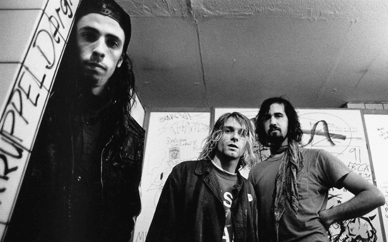 nirvana band photo