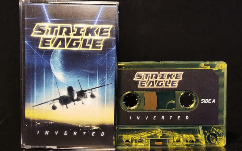 strike eagle cassette band merch