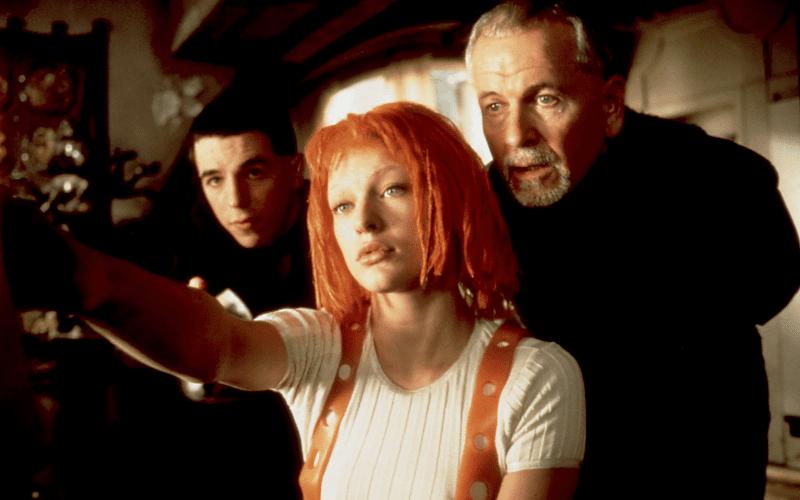 the fifth element cyberpunk movie
