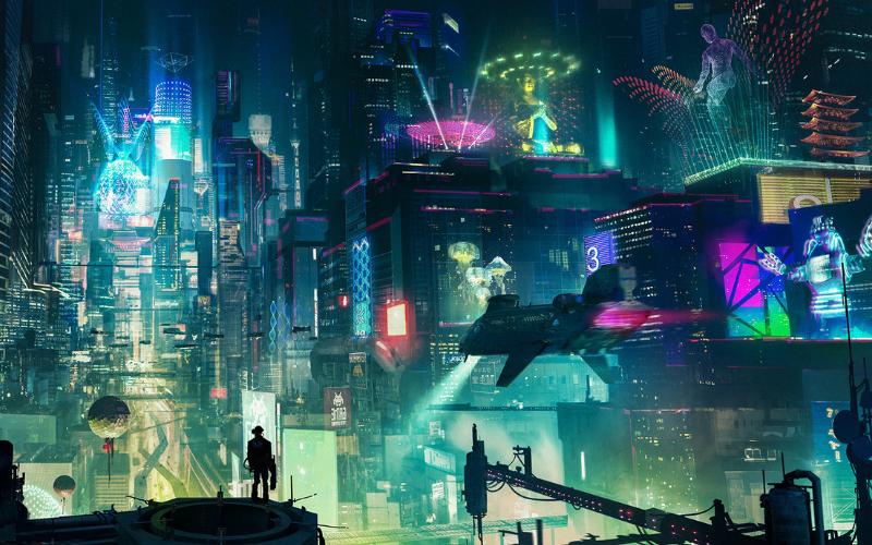 cyberpunk artwork