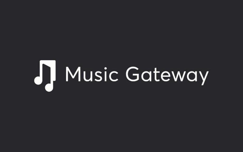 The Music Gateway logo.