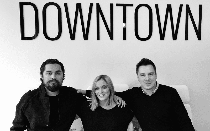 The Downtown music publishing team.