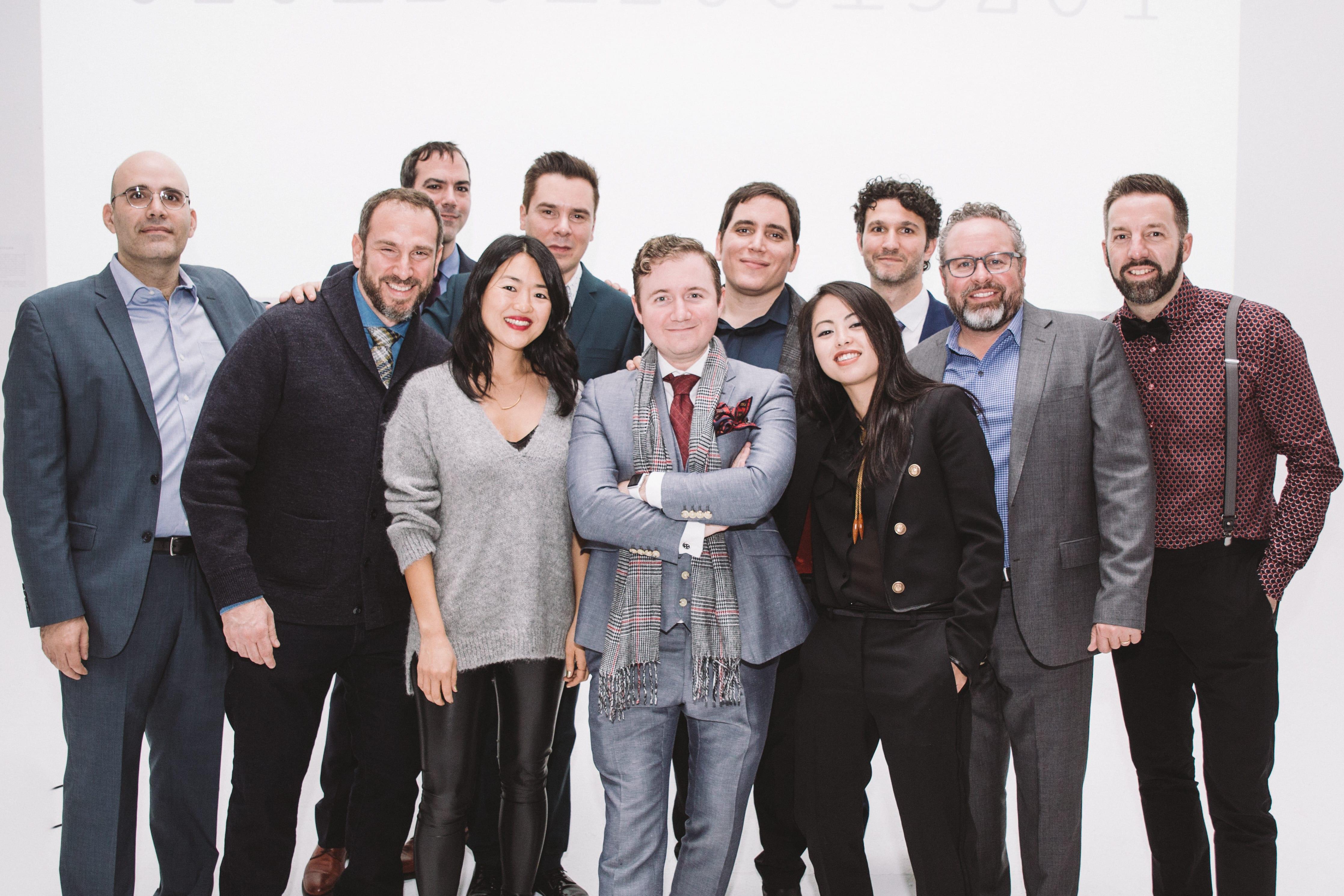 Downtown music publishing team.
