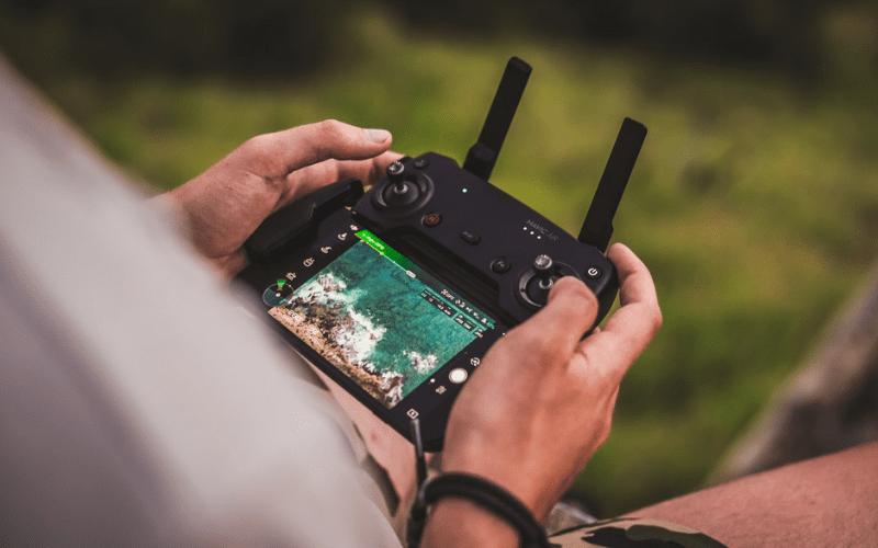 drone handheld screen