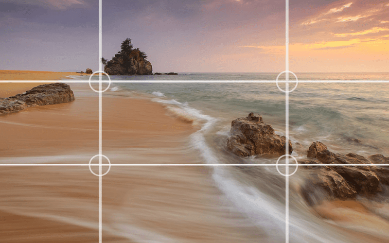 camera rule of thirds