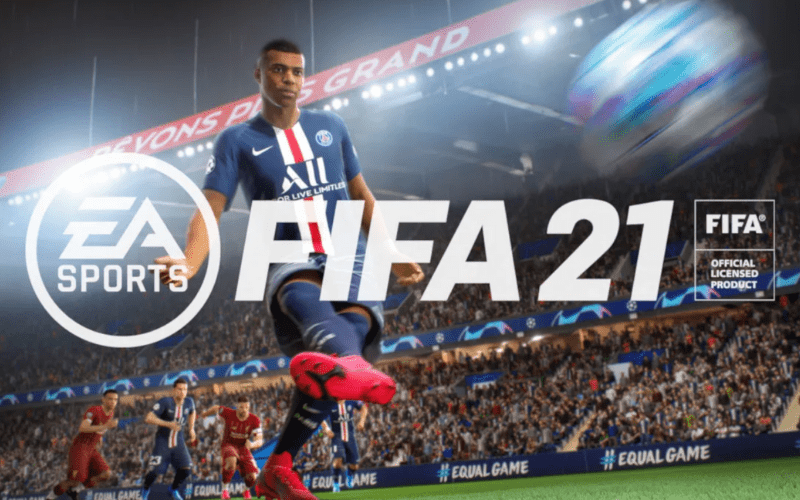 fifa 21 cover with mbappe best 2 player ps4 games