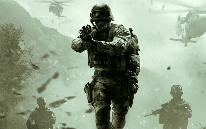 Call of Duty 4: Modern Warfare Remastered cover art