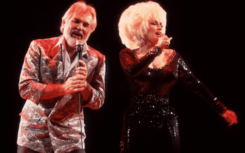 Dolly parton and kenny rogers - islands in the stream