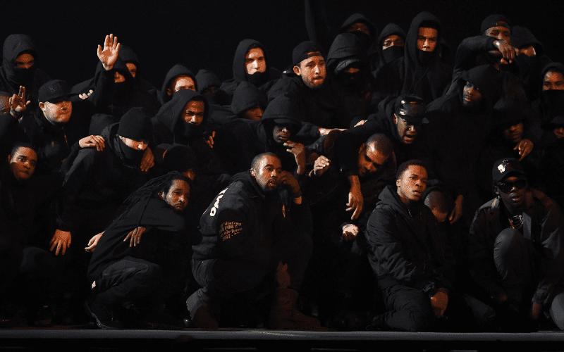 kanye west at brit awards 2015