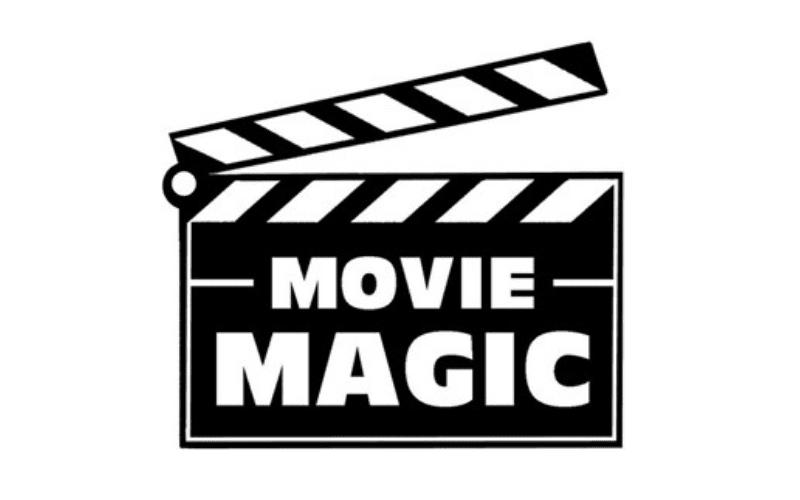 movie magic on a clapboard