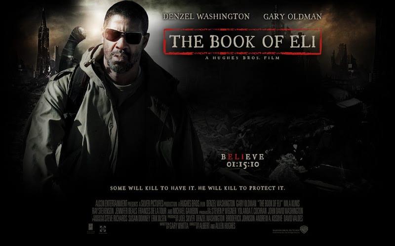 movie poster book of eli