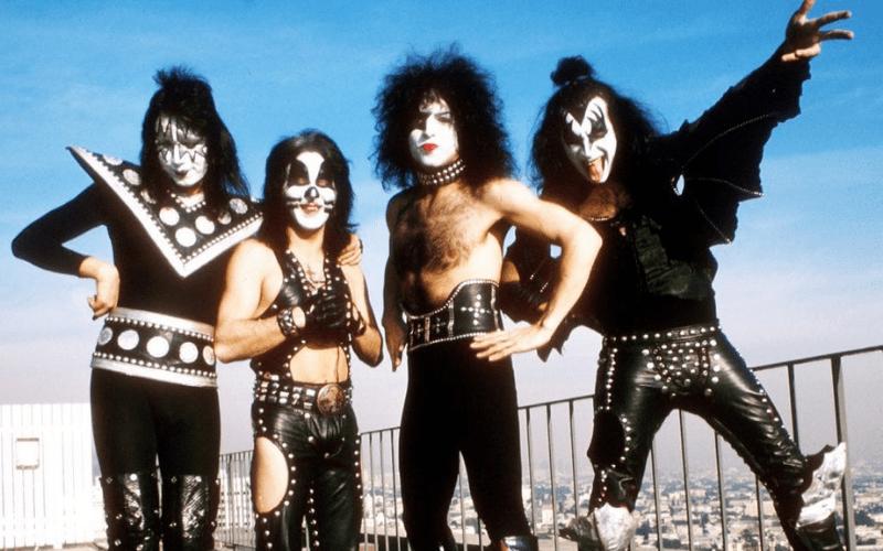 Kiss band photo