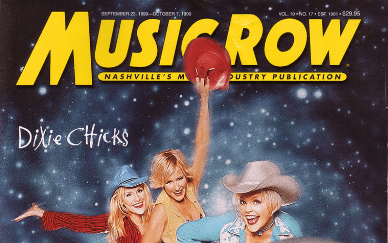music row magazine front cover dixie chicks