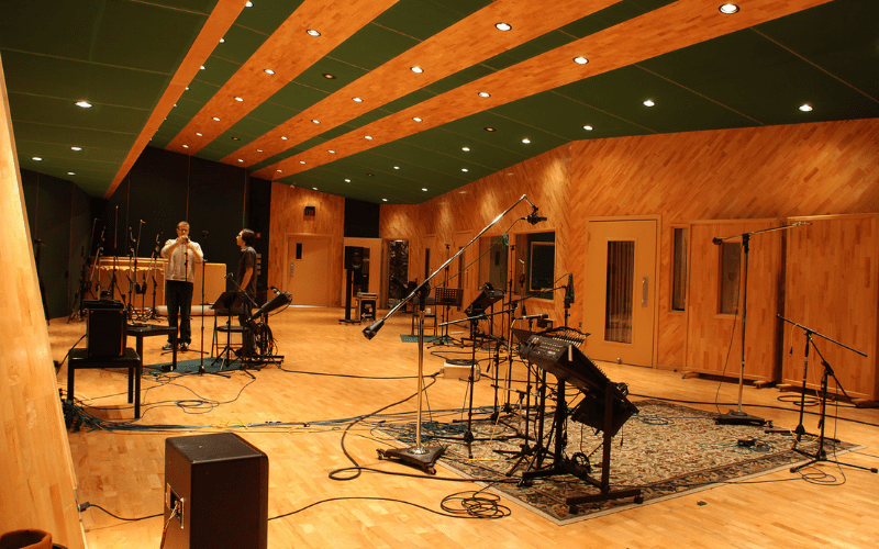 the tracking room