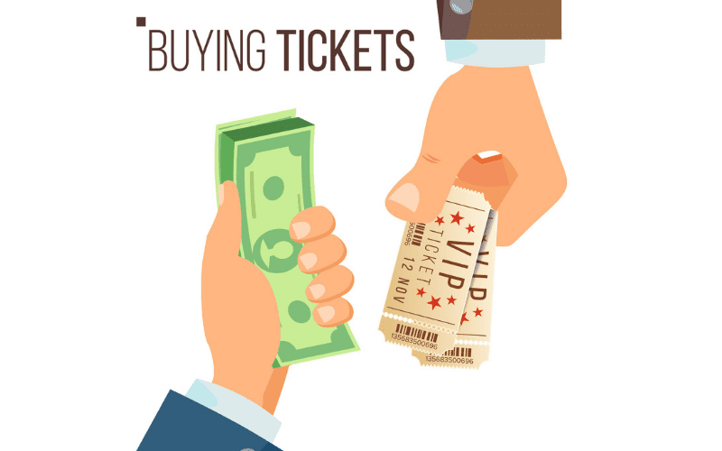 buying tickets