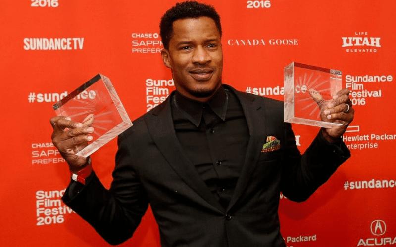 sundance film festival winner holding awards