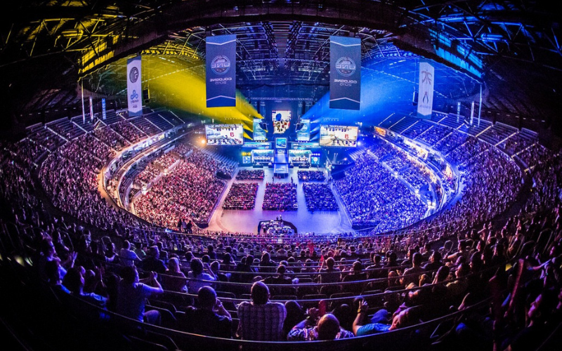 esports crowd at event