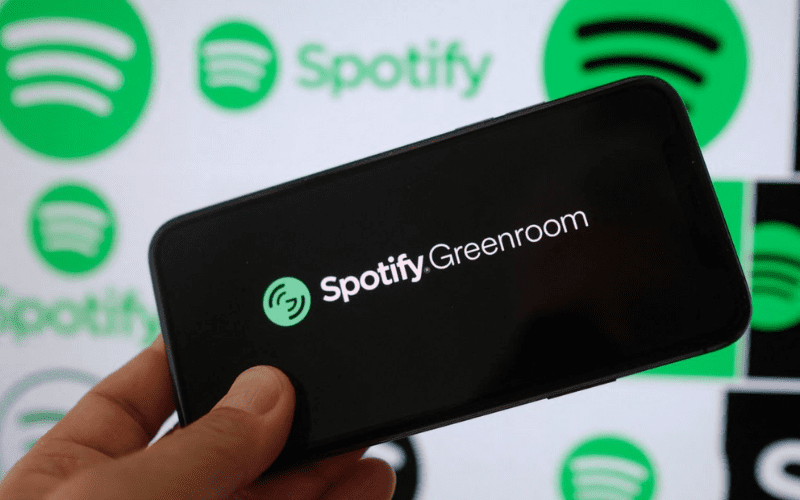 Spotify Greenroom logo