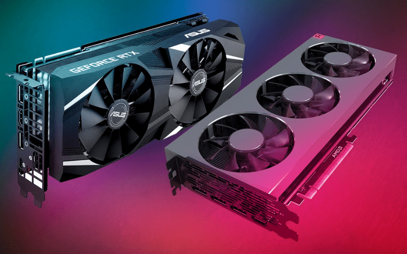 Two graphics cards