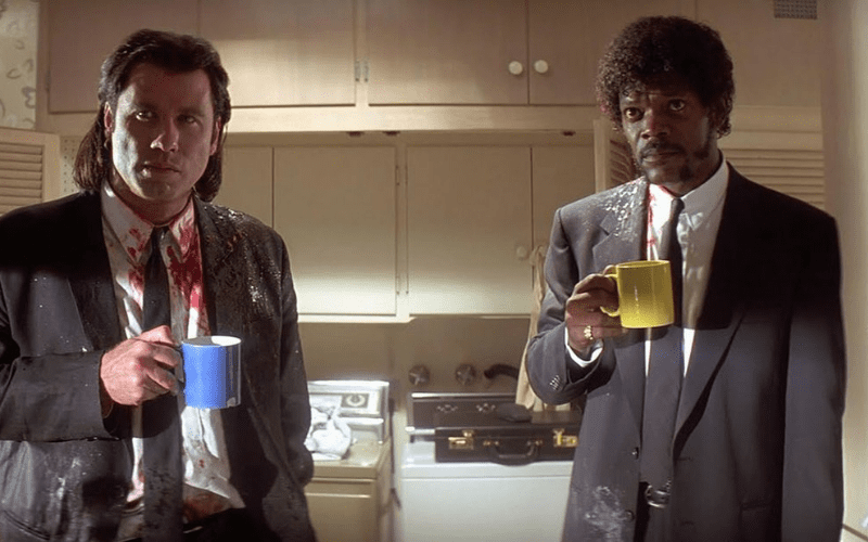 Pulp Fiction has a fantastic opening scene.