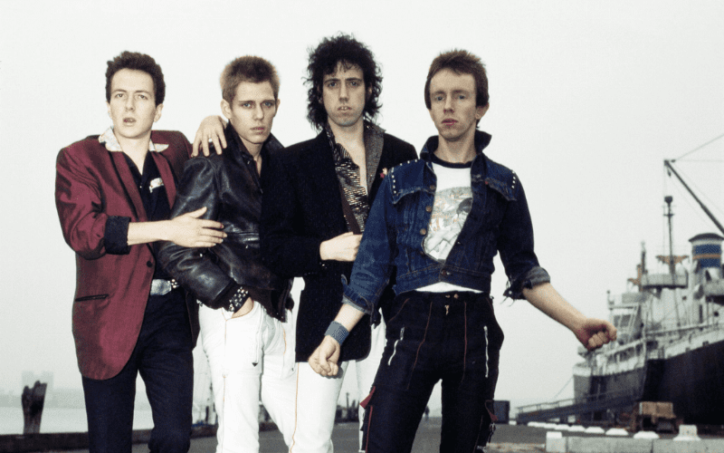 The Clash, one of the best punk bands.