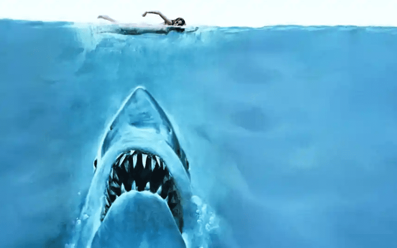 Jaws has one of the best opening scenes in movies