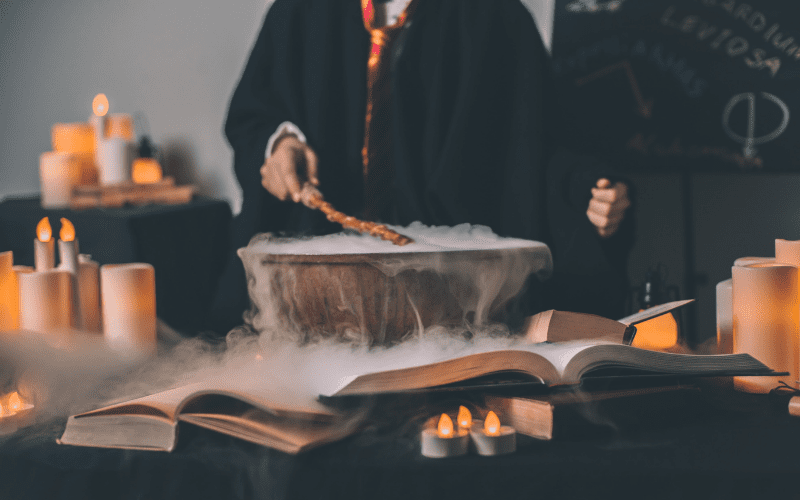 Harry Potter's prop masters were in charge of all kinds of magical trinkets and charms