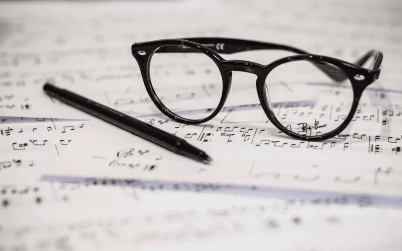 Music Room's sheet music