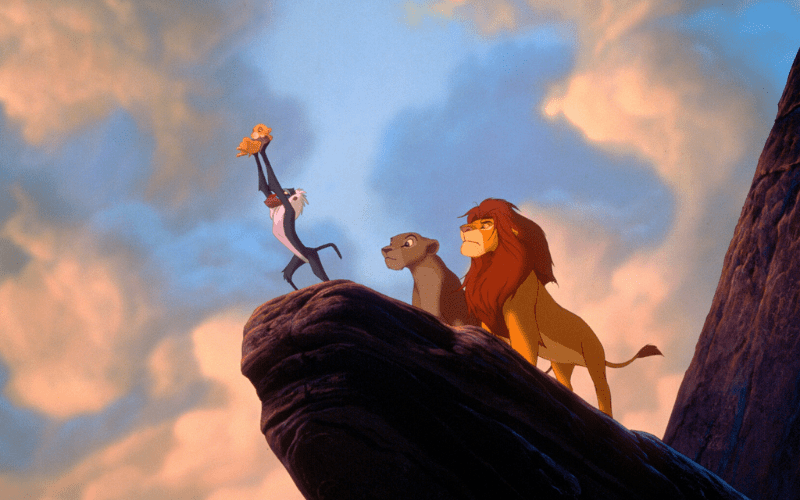 Lion King has one of the best opening scenes in movies