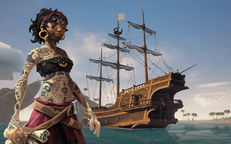 Sea of Thieves is one of the best 2 player Xbox games