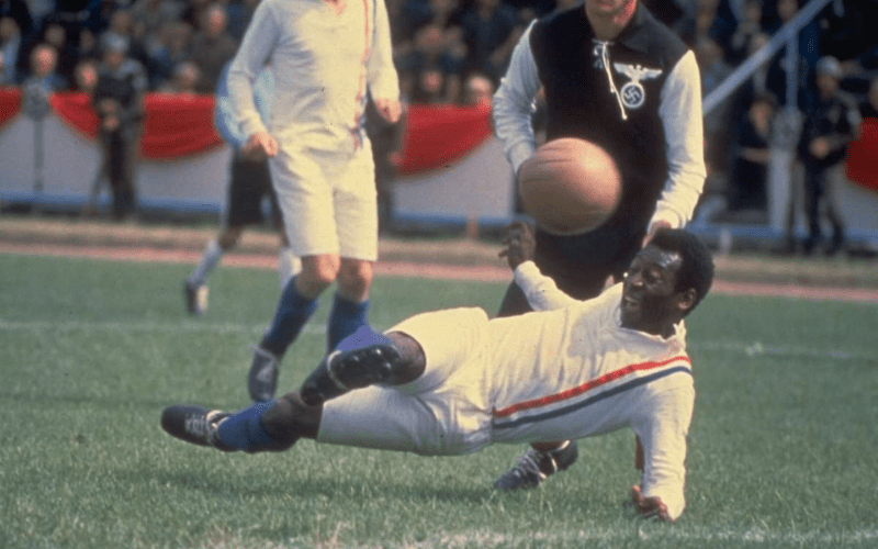 pele in escape to victory football film