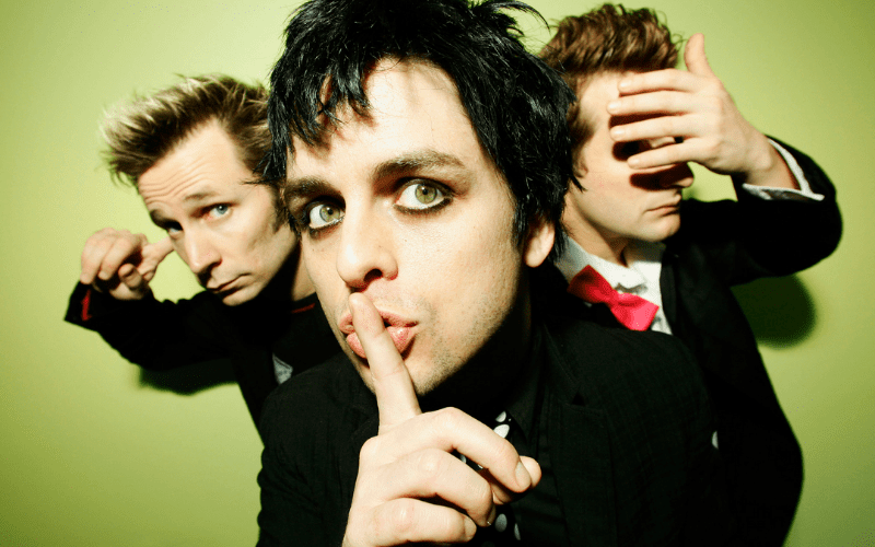 Green Day, one of the best punk bands
