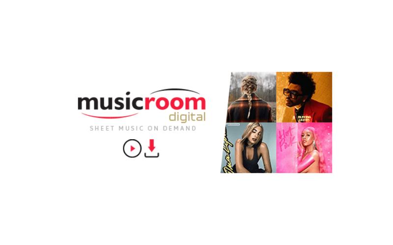 Music Room's digital sheet music service