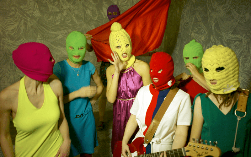 Pussy Riot, one of the best punk bands