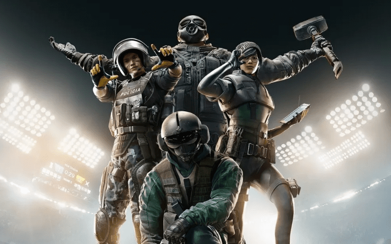 Rainbow Six Siege is one of the best 2 player Xbox games