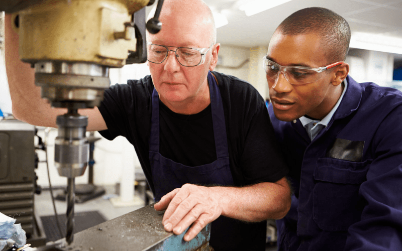 A prop master apprenticeship