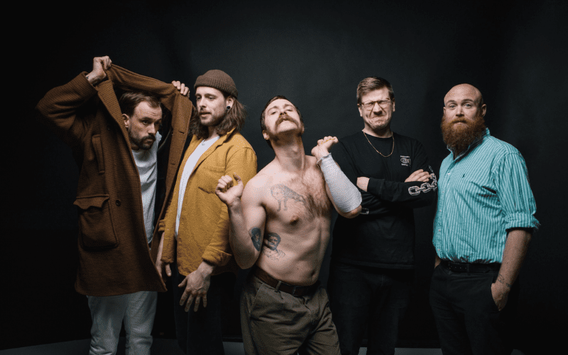 IDLES, one of the best punk bands
