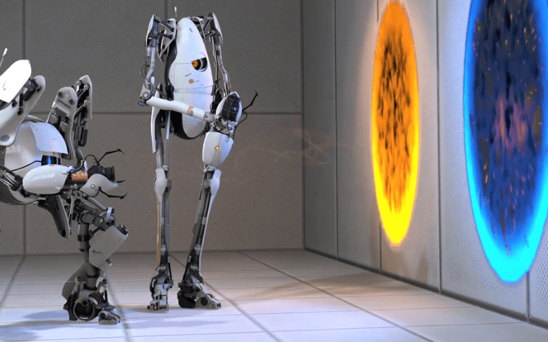 Portal 2 is one of the best 2 player Xbox games