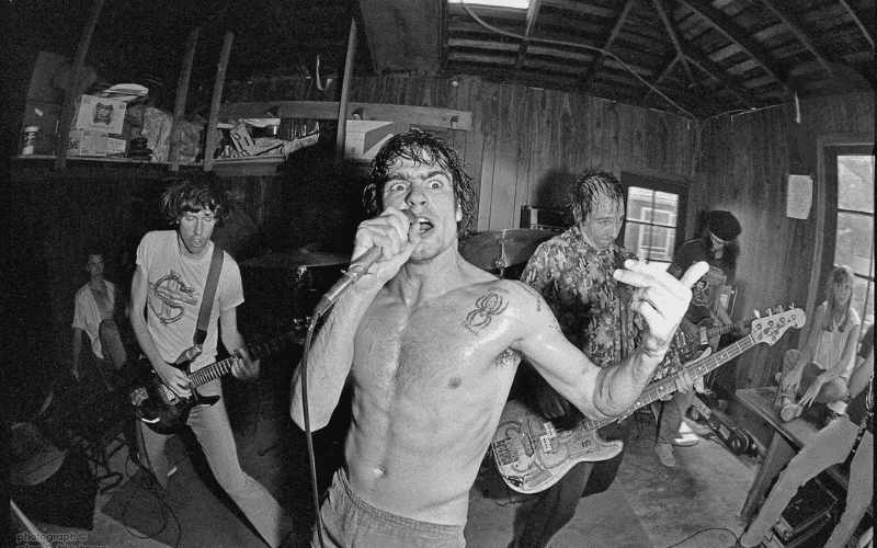 Black Flag, one of the best punk bands