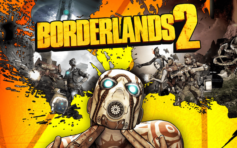 Borderlands 2 is one of the best 2 player Xbox games