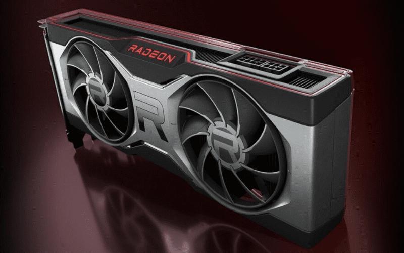 A AMD Radeon RX 6700 XT graphics card