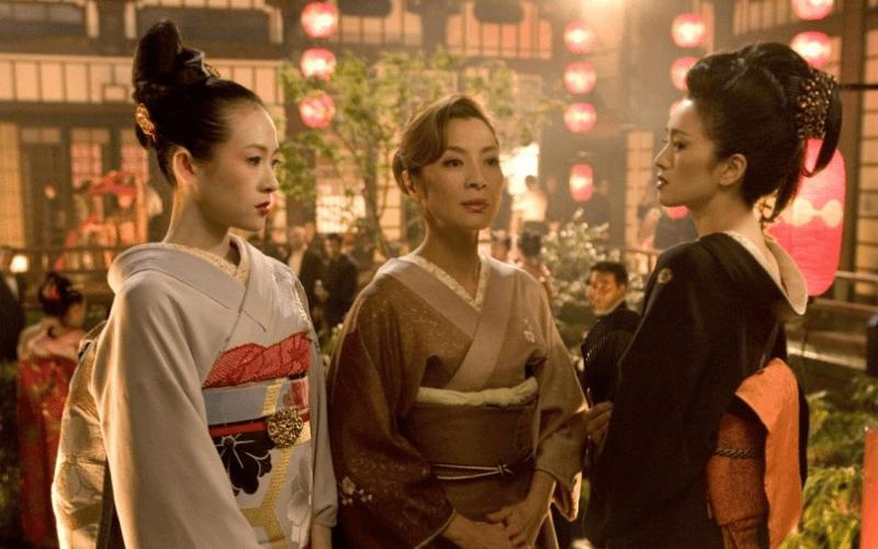 memoirs of a geisha cinematography